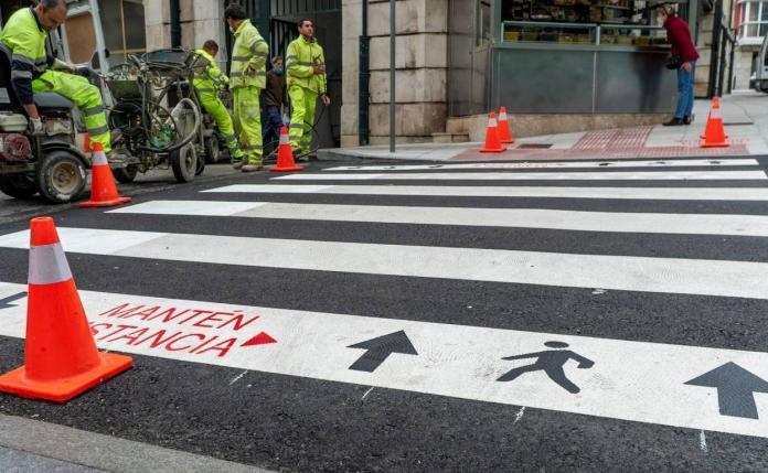 peatones alcorcon