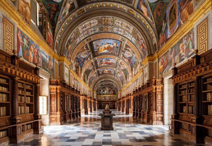 Biblioteca-Escorial-Palacio-Real