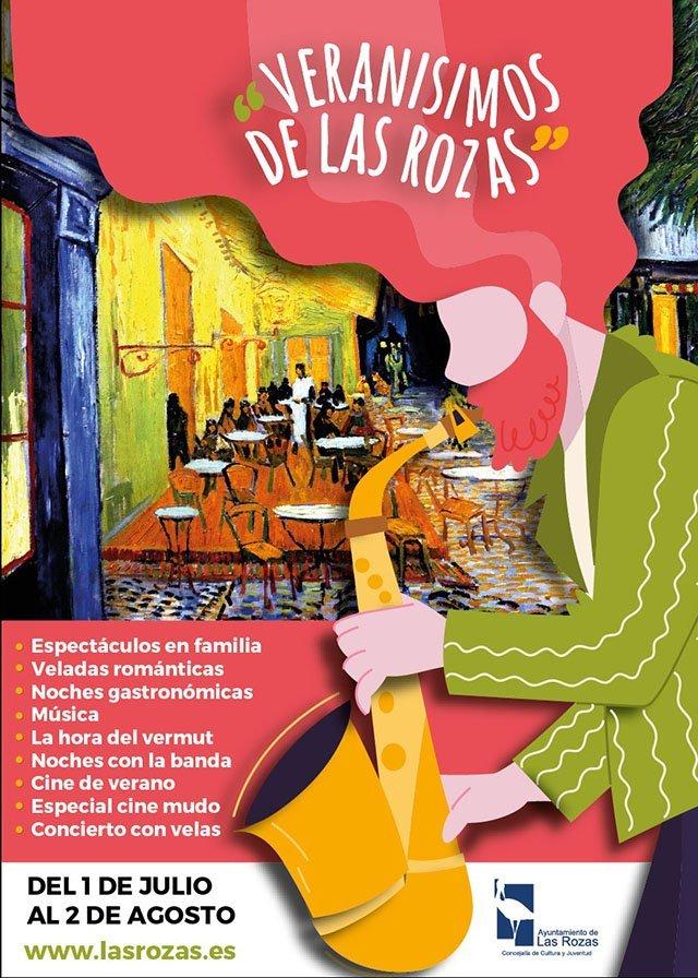 'Veranísimos': veladas gastronómicas y románticas, música y cine al aire libre en Las Rozas 1