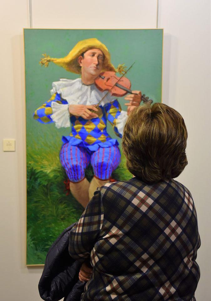 'Mujeres con Sombrero' en la sala de exposiciones de Villaviciosa de Odón 1