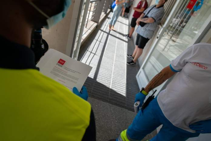 Los PCR aleatorios aumentarán y se extenderán en Madrid 7