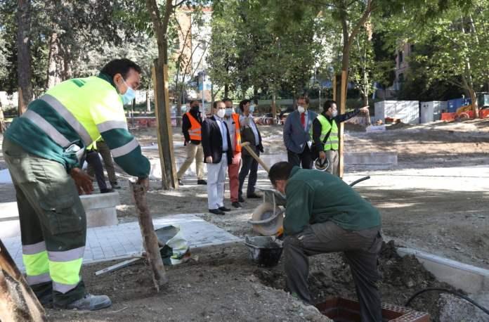 El parque Isabel Clara Eugenia de Hortaleza será renovado 1