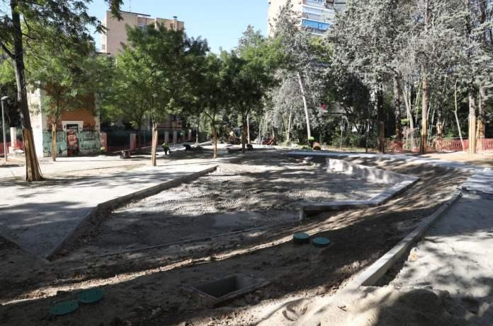 El parque Isabel Clara Eugenia de Hortaleza será renovado 2