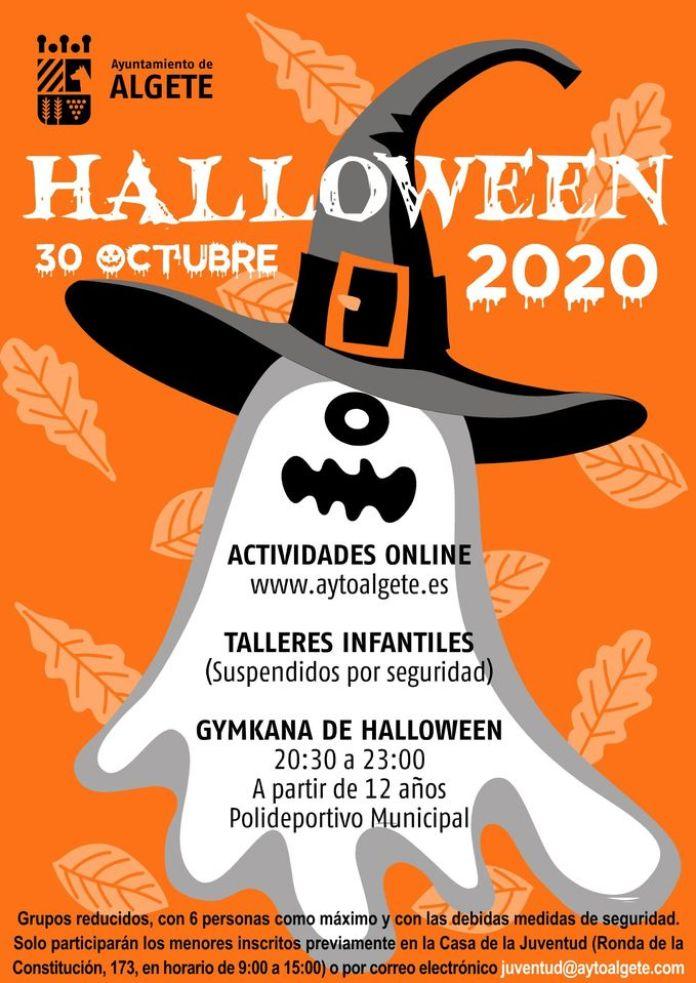 Halloween en Algete con yincanas y talleres online 1