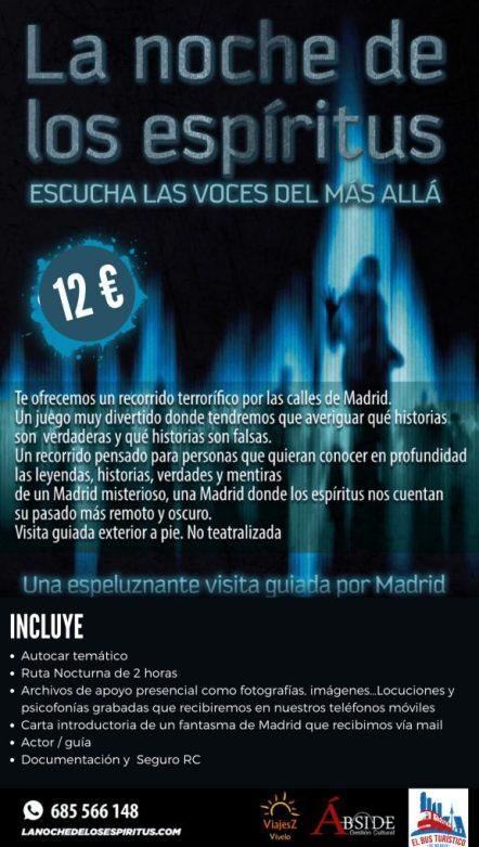 Halloween 2020: planes para pasar terror controlado en Madrid 5
