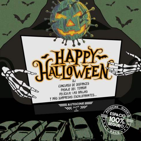 Halloween 2020: planes para pasar terror controlado en Madrid 3