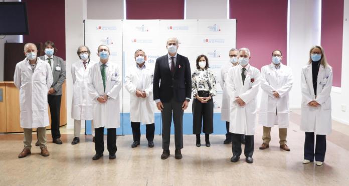 El fármaco que reduce la carga viral de la Covid se prueba en Madrid 1