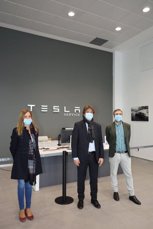 Fuenlabrada | Tesla traslada uno de sus centros de servicios de Getafe 1