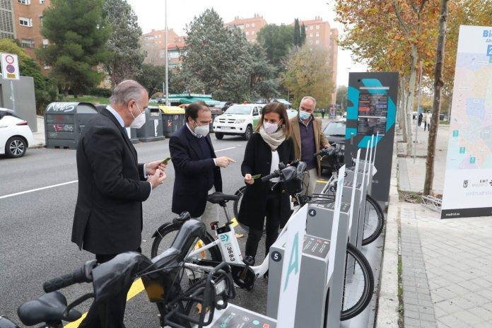 BiciMAD llega a Moratalaz con cuatro nuevas estaciones 2