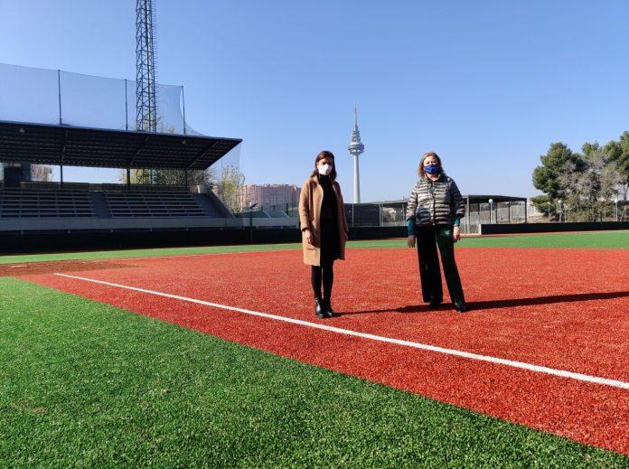 La Elipa presume de campo de béisbol renovado 2