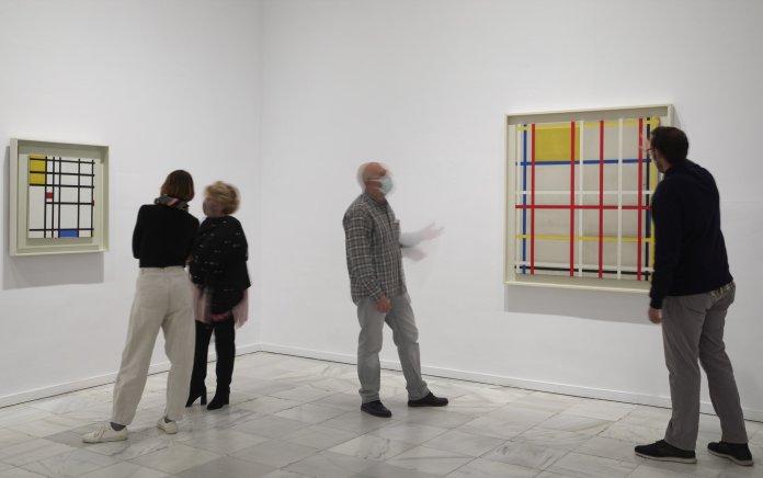 La retrospectiva de Mondrian, en el Reina Sofía 1