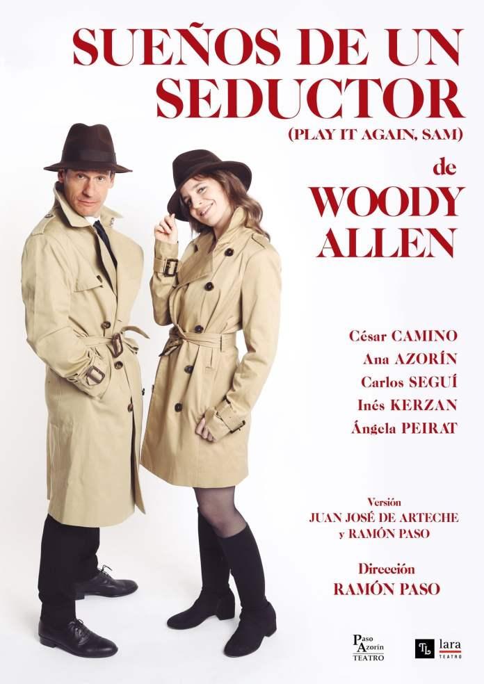 El teatro Lara estrena 'Sueños de un seductor' de Woody Allen 1