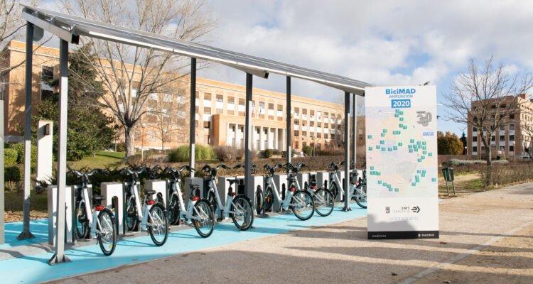 BiciMAD comenzará 2021 con 258 estaciones en 15 distritos 1
