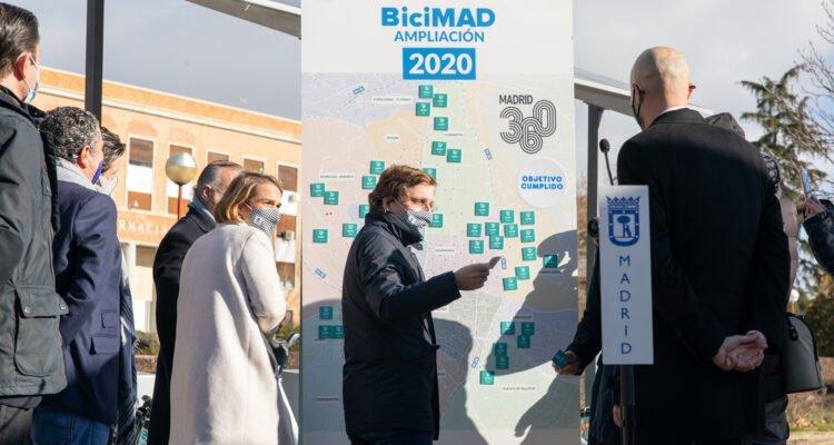 BiciMAD comenzará 2021 con 258 estaciones en 15 distritos 4