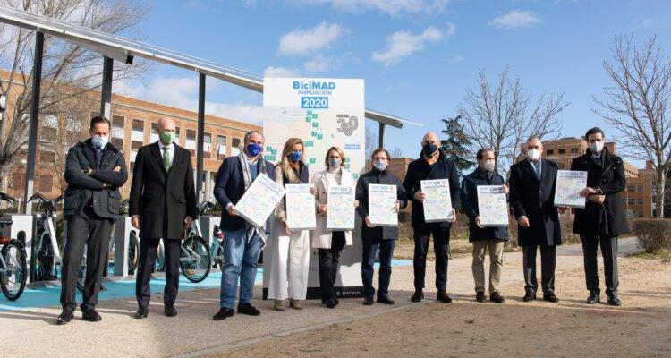 BiciMAD comenzará 2021 con 258 estaciones en 15 distritos 7