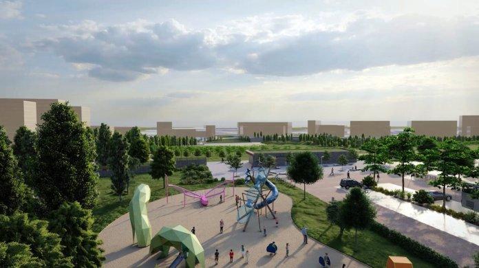 Aprobado el proyecto del nuevo parque Central de Valdebebas 2