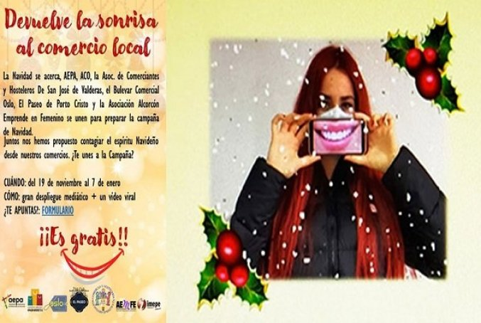 Alcorcón | Que el comercio local sonría en Navidad 1