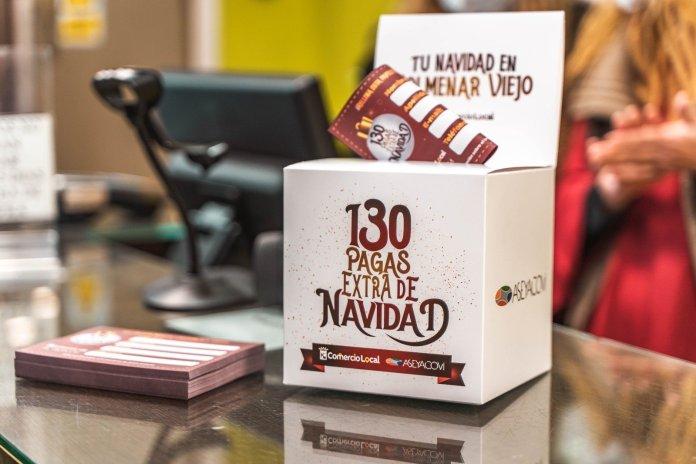 130 'pagas extra' de Navidad para gastar en los comercios locales de Colmenar 2
