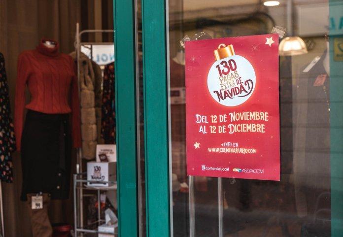 130 'pagas extra' de Navidad para gastar en los comercios locales de Colmenar 3