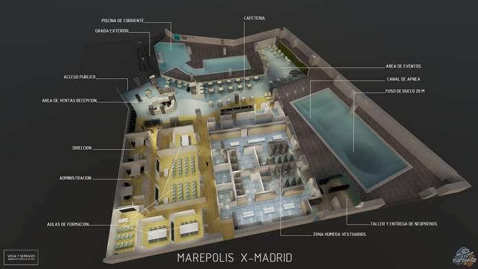 Madrid se convierte en destino de buceo con Marepolis 1