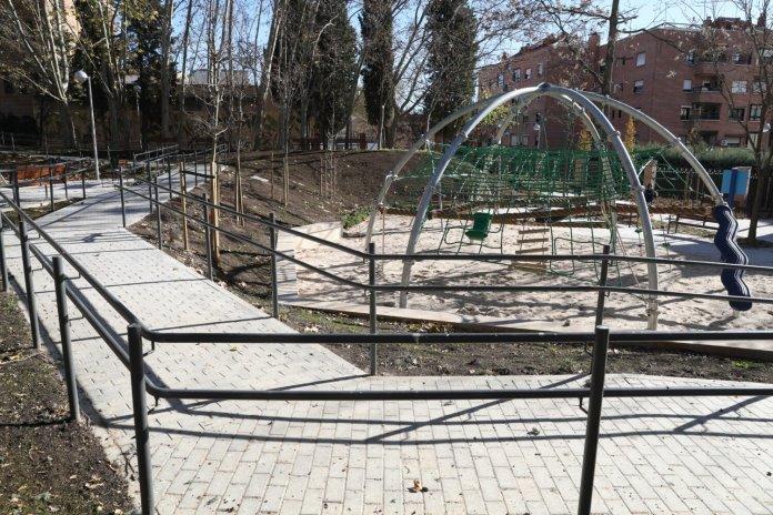 El nuevo parque Isabel Clara Eugenia de Hortaleza 2