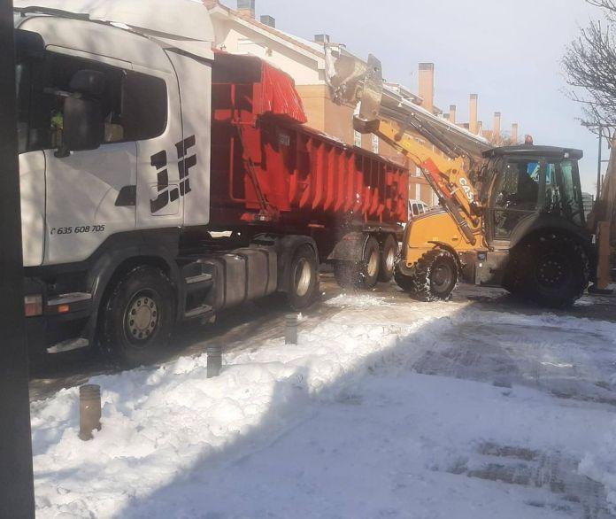 San Martín de la Vega recompensará el trabajo de los agricultores durante la nevada 2