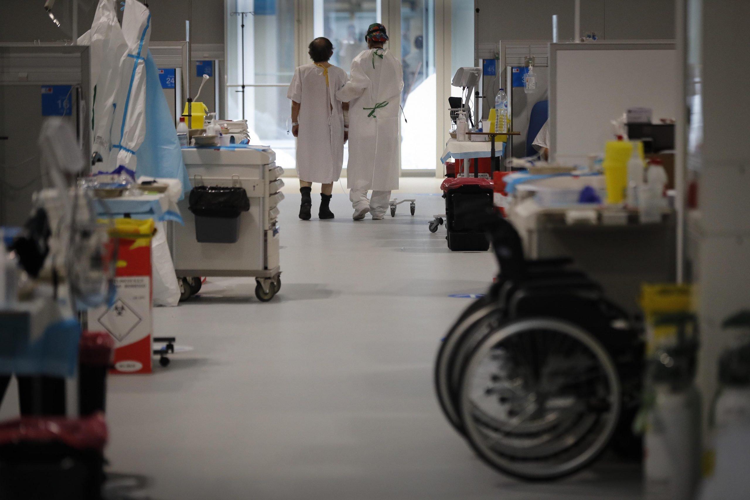 El hospital Isabel Zendal prepara 352 nuevas camas ante la tercera ola 6