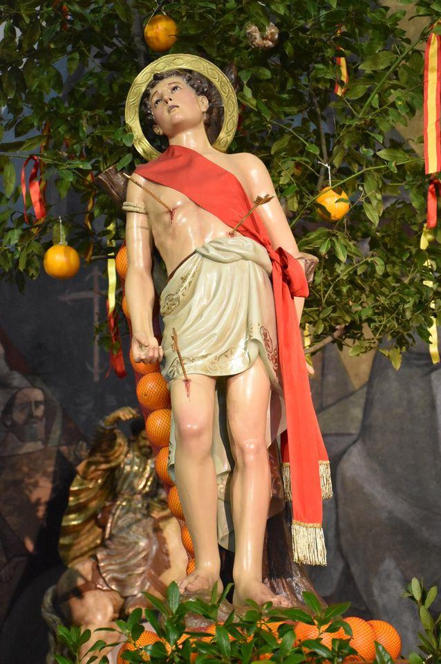 Villaviciosa celebra la misa de San Sebastián 2021 con aforo reducido 1
