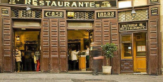 Restaurantes centenarios de Madrid: cultura y turismo de interés general 5