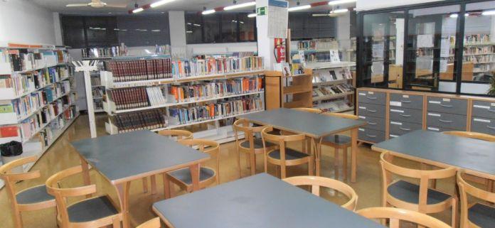 Sanse reforma la sala principal de la Biblioteca Municipal Plaza de la Iglesia 1