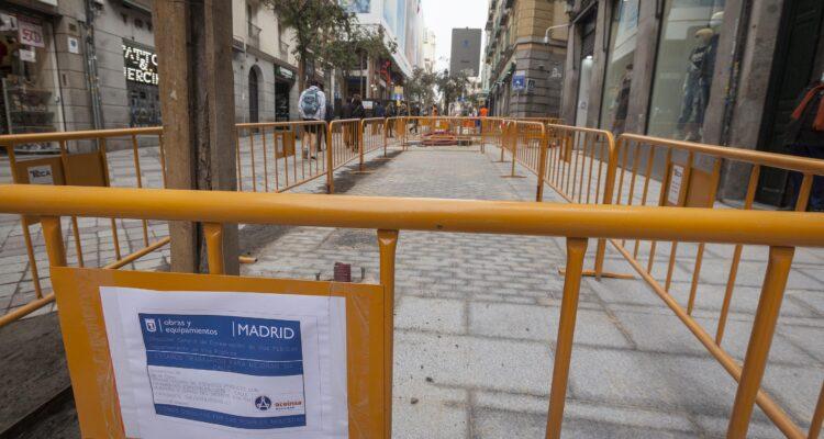 Arenal y Montera tendrán pavimento y mobiliario urbano renovados 3