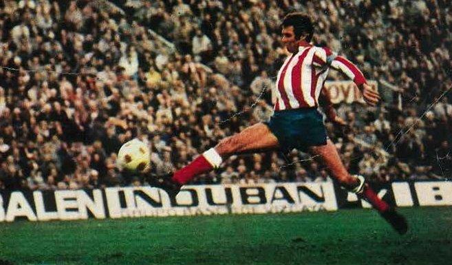 El máximo goleador del Atlético de Madrid 1