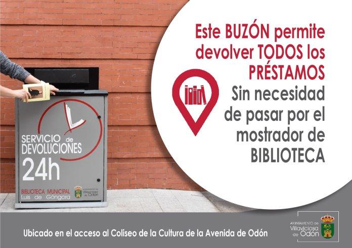 La biblioteca Luis de Góngora de Villaviciosa ofrece un servicio de devolución 24 horas 1