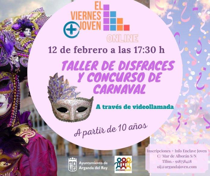 Arganda organiza un concurso de disfraces virtual para Carnaval 2021 1