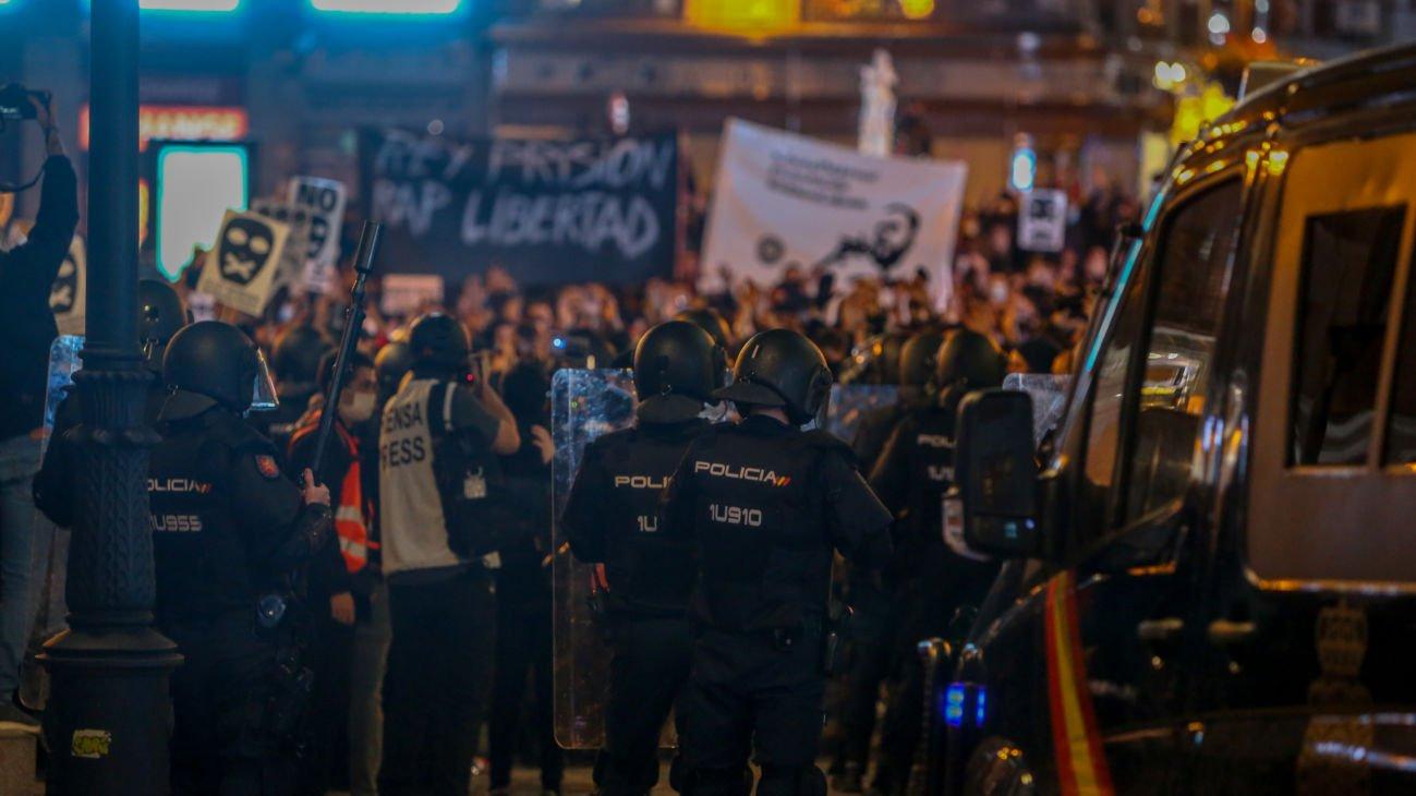 Los adultos detenidos en las protestas por Hasél salen en libertad 1