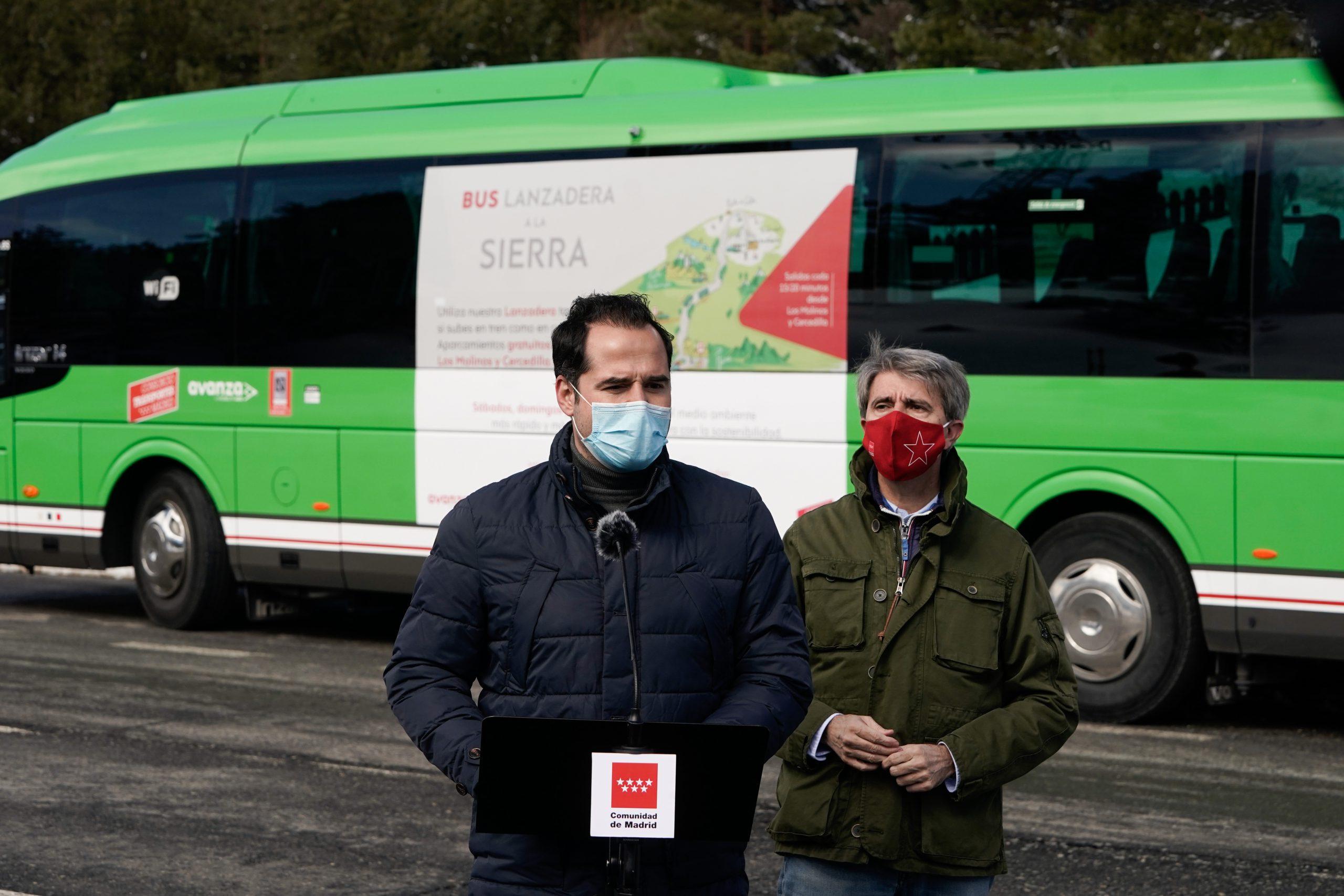 Un nuevo autobús unirá Los Molinos con Cotos y Valdesquí 3