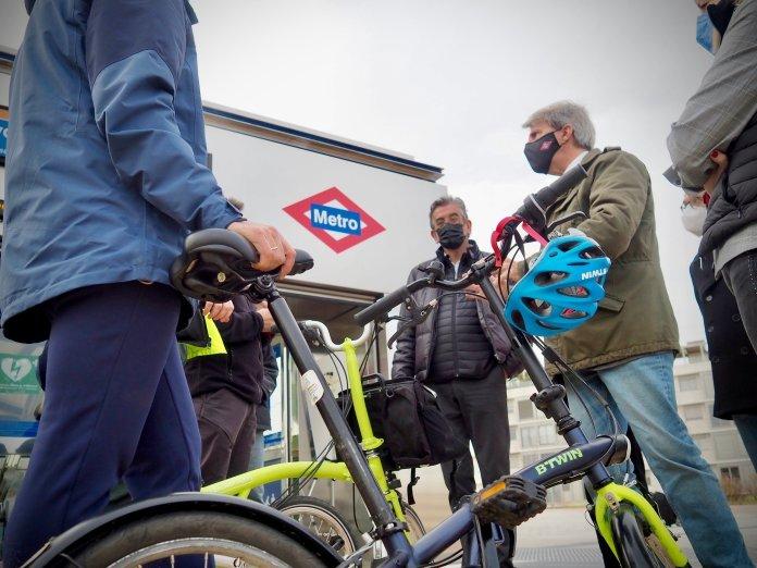 Dos nuevas rutas verdes en El Pardo y el Anillo Verde Ciclista 2