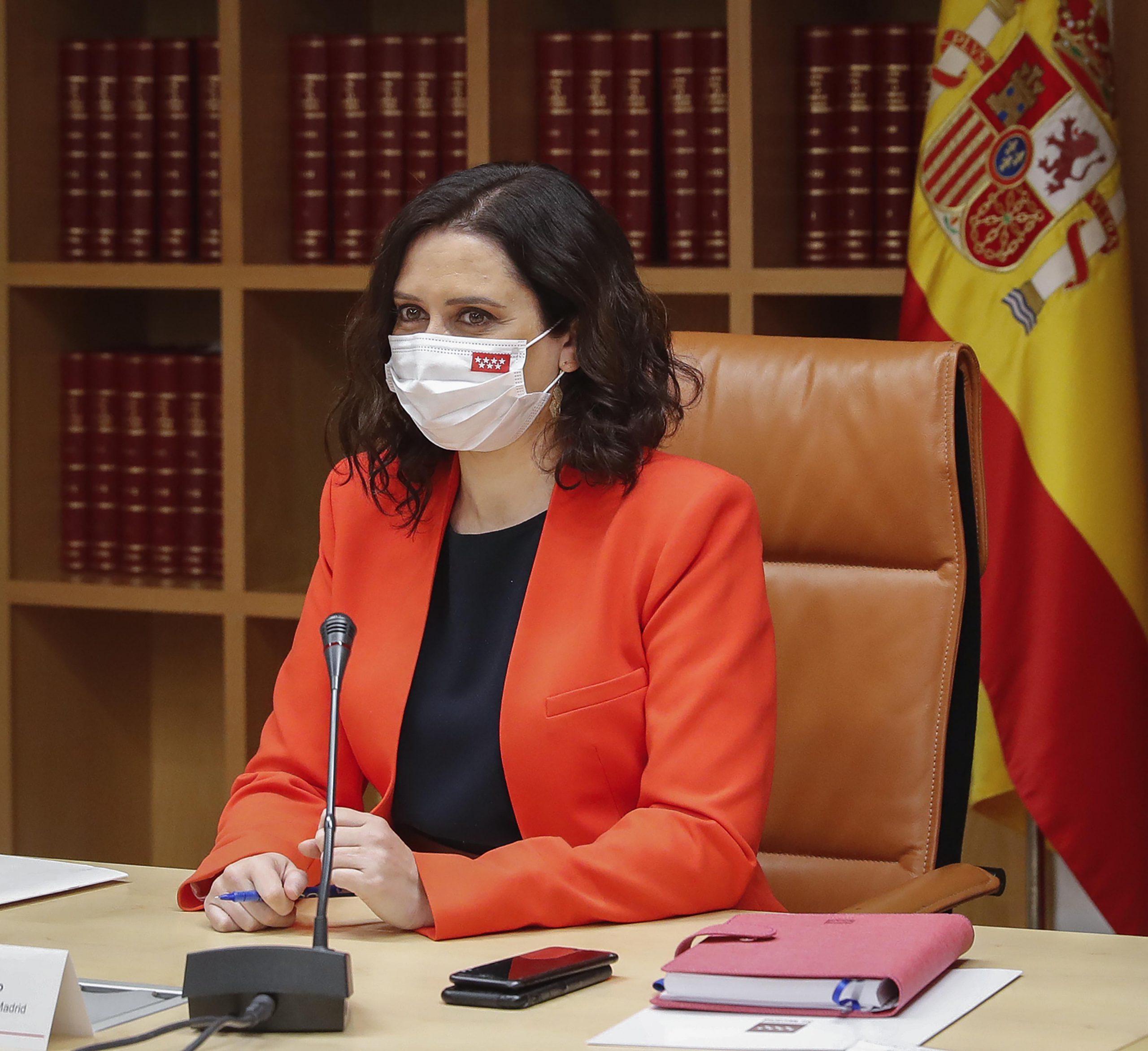 """Ayuso: """"Platercam es la evidencia de que Madrid ha sido efectiva en su lucha contra el virus"""" 5"""