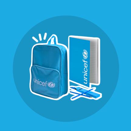 Envía cajas llenas de vida con Regalo Azul de UNICEF 1