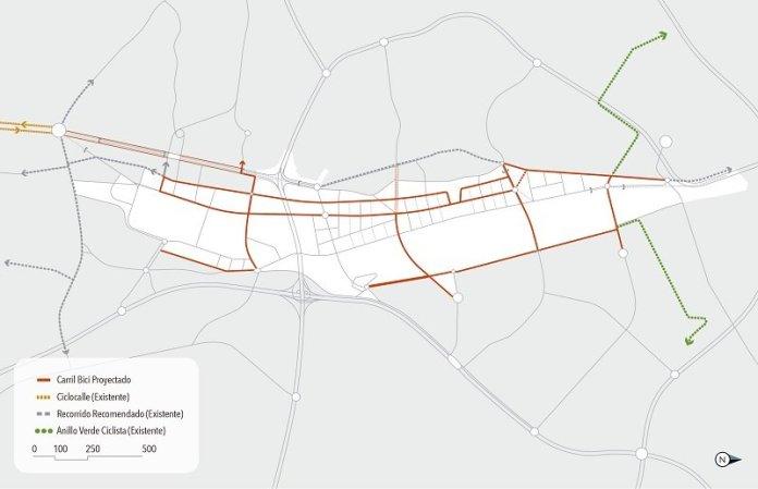Un paseo por el carril bici de Madrid Nuevo Norte 3