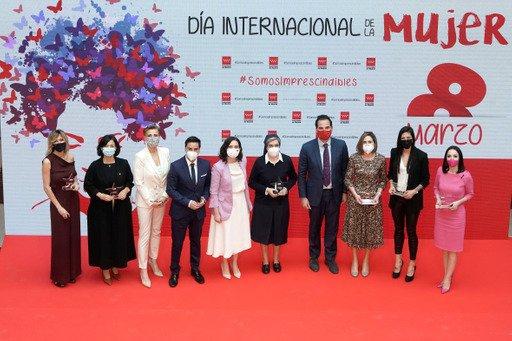 La Comunidad de Madrid premia a mujeres ejemplares en el 8M 5