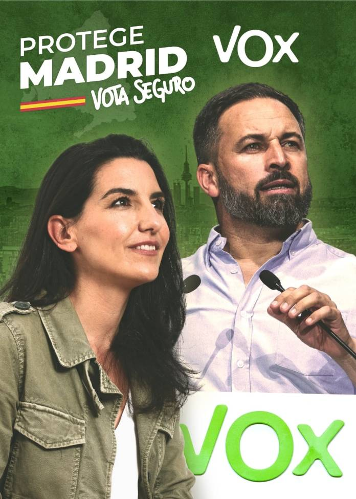 """VOX a ser """"esencial"""" para condicionar el gobierno de Madrid 1"""