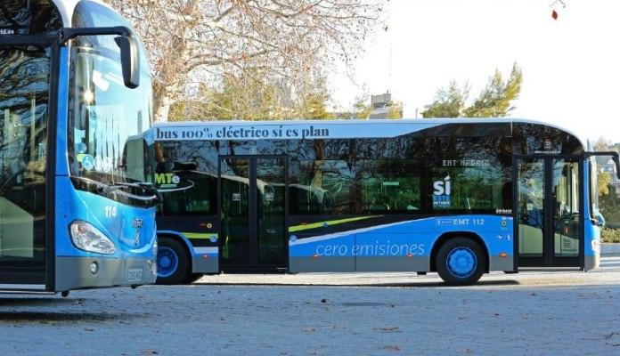 La EMT incorpora 520 autobuses de gas y 50 eléctricos 1
