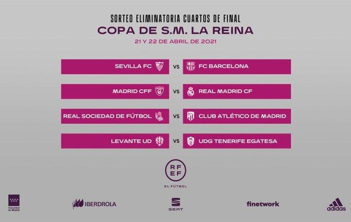 La RFEF celebra el sorteo de Copa de S.M. la Reina de fútbol 2