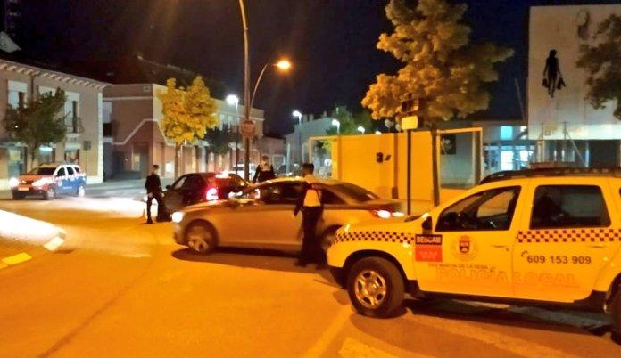 Dos detenidos en la primera noche tras el Estado de Alarma en San Martín de la Vega 1