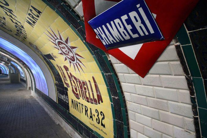 """Metro de Madrid pone """"guapos"""" sus museos 2"""