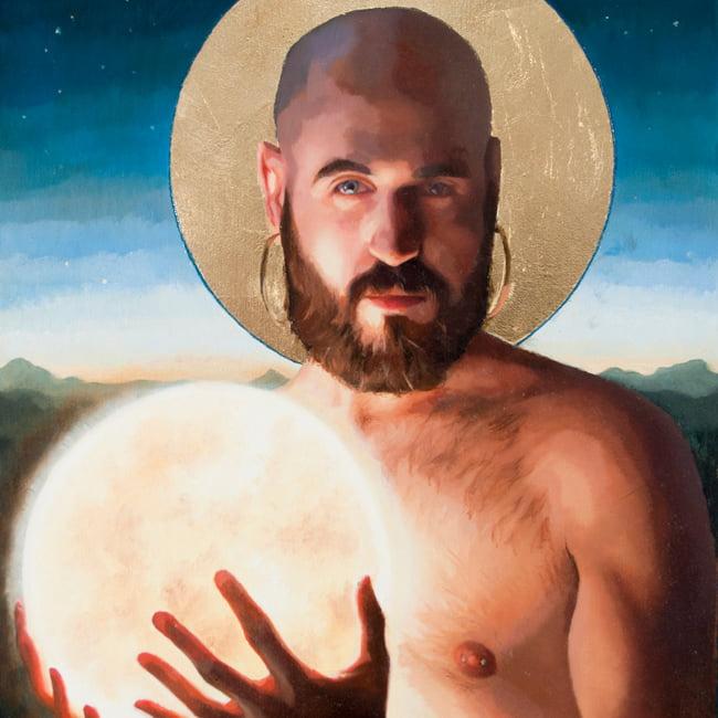 ArtMadrid convierte a Ayuso en la Virgen y a C.Tangana en Jesús 2