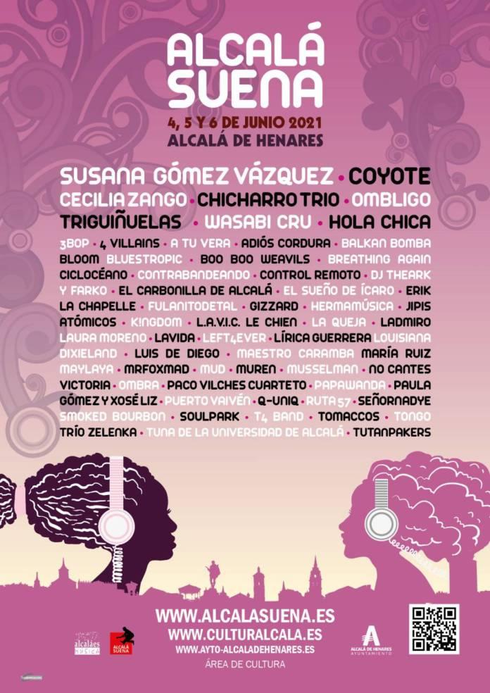 62 propuestas musicales en el festival Alcalá Suena 2021 1