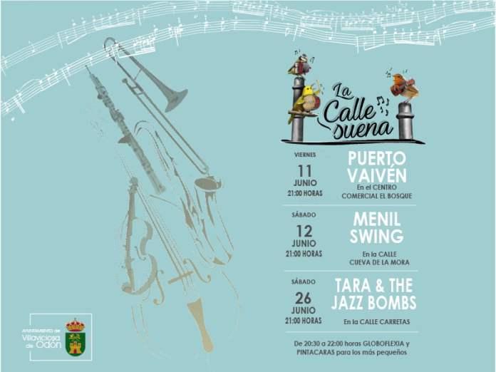 'La calle suena' este mes de junio en Villaviciosa de Odón 1