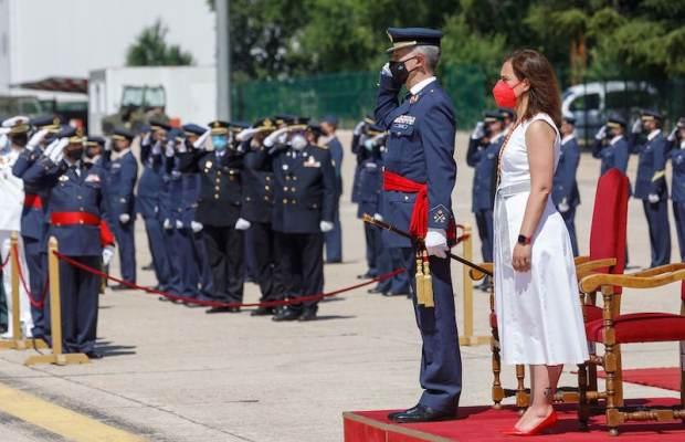 La base aérea del Ejercito del Aire de Getafe recibe la medalla de oro de la ciudad 2